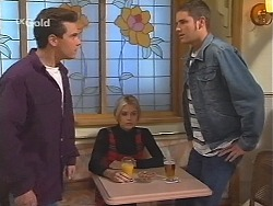 Mark Gottlieb, Joanna Hartman, Luke Handley in Neighbours Episode 2411