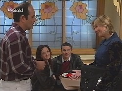 Philip Martin, Cody Willis, Stonie Rebecchi, Jen Handley  in Neighbours Episode 2412