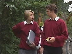 Danni Stark, Malcolm Kennedy  in Neighbours Episode 2412