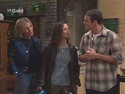 Jen Handley, Cody Willis, Stonie Rebecchi  in Neighbours Episode 2412