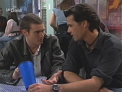 Stonie Rebecchi, Sam Kratz in Neighbours Episode 2413