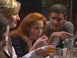Jen Handley, Ren Gottlieb, Luke Handley in Neighbours Episode 2413