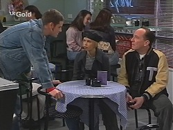 Luke Handley, Joanna Hartman, Tarquin Hartman in Neighbours Episode 2414