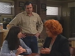 Susan Kennedy, Karl Kennedy, Cheryl Stark in Neighbours Episode 2414