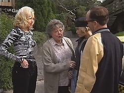 Annalise Hartman, Marlene Kratz, Joanna Hartman, Tarquin Hartman in Neighbours Episode 2414