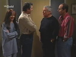 Susan Kennedy, Karl Kennedy, Lou Carpenter, Philip Martin in Neighbours Episode 2414