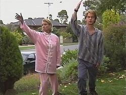 Helen Daniels, Brett Stark in Neighbours Episode 2415