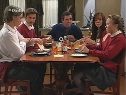 Billy Kennedy, Malcolm Kennedy, Karl Kennedy, Susan Kennedy, Libby Kennedy in Neighbours Episode 2415