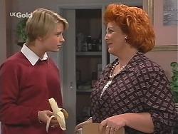 Danni Stark, Cheryl Stark in Neighbours Episode 2415