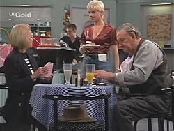 Helen Daniels, Lucy Robinson, Old Sid in Neighbours Episode 2415