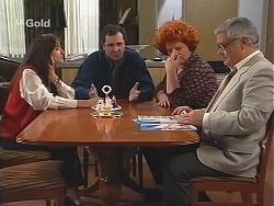 Susan Kennedy, Karl Kennedy, Cheryl Stark, Lou Carpenter in Neighbours Episode 2415