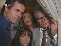 Karl Kennedy, Susan Kennedy, Cheryl Stark, Lou Carpenter in Neighbours Episode 2416