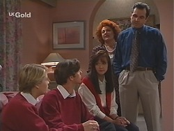 Danni Stark, Malcolm Kennedy, Susan Kennedy, Cheryl Stark, Karl Kennedy in Neighbours Episode 2416