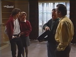 Malcolm Kennedy, Danni Stark, Philip Martin, Karl Kennedy in Neighbours Episode 2416