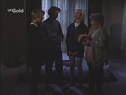 Danni Stark, Malcolm Kennedy, Annalise Hartman, Marlene Kratz in Neighbours Episode 2417