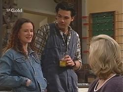 Cody Willis, Sam Kratz, Annalise Hartman in Neighbours Episode 2417