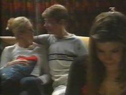 Amy Greenwood, Lance Wilkinson, Anne Wilkinson in Neighbours Episode 3111