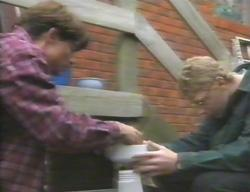 Paul McClain, Patrick Greenwood in Neighbours Episode 3114