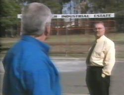 Lou Carpenter, Harold Bishop in Neighbours Episode 3114
