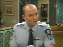 Policeman in Neighbours Episode 3124