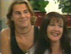 Joel Samuels, Susan Kennedy in Neighbours Episode 3124