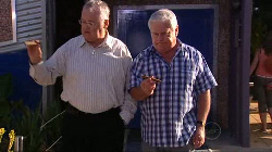 Harold Bishop, Lou Carpenter in Neighbours Episode 4929