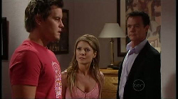 Ned Parker, Izzy Hoyland, Paul Robinson in Neighbours Episode 4932