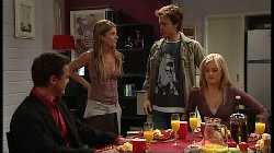 Paul Robinson, Izzy Hoyland, Robert Robinson, Elle Robinson in Neighbours Episode 4932