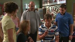 Bridget Parker, Miranda Parker, Steve Parker, Ned Parker, Paul Robinson in Neighbours Episode 5263