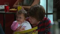 Kerry Mangel (baby), Caleb Maloney in Neighbours Episode 5264