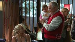 Sky Mangel, Kerry Mangel (baby), Harold Bishop in Neighbours Episode 5264