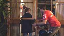 Mickey Gannon, Declan Napier in Neighbours Episode 5265