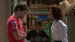 Declan Napier, Mickey Gannon, Rebecca Napier in Neighbours Episode 5266