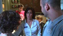 Bridget Parker, Declan Napier, Rebecca Napier, Mickey Gannon, Steve Parker in Neighbours Episode 5266