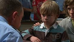 Snr Sgt Malcolm Hill, Mickey Gannon, Bridget Parker in Neighbours Episode 5266