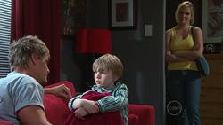 Ned Parker, Mickey Gannon, Janae Timmins in Neighbours Episode 5266