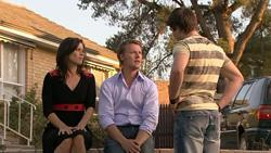 Rebecca Napier, Oliver Barnes, Declan Napier in Neighbours Episode 5267