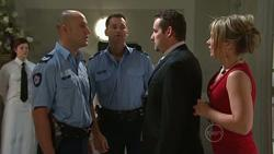 Sgt Ray Moller, Policeman, Toadie Rebecchi, Steph Scully in Neighbours Episode 5267