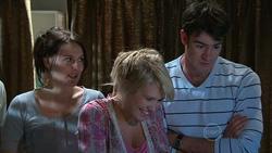 Rosie Cammeniti, Pepper Steiger, Frazer Yeats in Neighbours Episode 5268