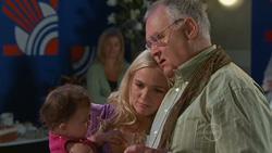 Kerry Mangel (baby), Sky Mangel, Harold Bishop in Neighbours Episode 5270