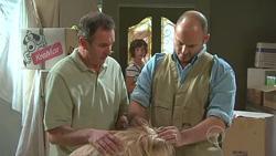 Karl Kennedy, Bridget Parker, Steve Parker in Neighbours Episode 5271