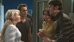 Pepper Steiger, Adam Rhodes, Rosie Cammeniti, Frazer Yeats in Neighbours Episode 5271
