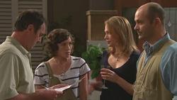 Karl Kennedy, Bridget Parker, Miranda Parker, Steve Parker in Neighbours Episode 5271