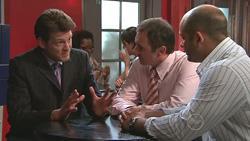 Christian Johnson, Karl Kennedy, Steve Parker in Neighbours Episode 5272