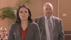Janae Hoyland, Rosie Cammeniti, Harold Bishop in Neighbours Episode 5273