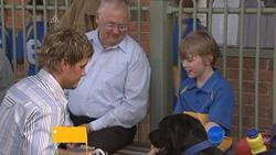 Ned Parker, Harold Bishop, Mickey Gannon in Neighbours Episode 5273