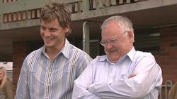 Ned Parker, Harold Bishop in Neighbours Episode 5273