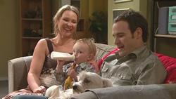Steph Scully, Charlie Hoyland, Stonie Rebecchi in Neighbours Episode 5273