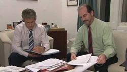 Richard Aaronow, Malcolm Lewis in Neighbours Episode 5274