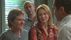 Susan Kennedy, Steve Parker, Miranda Parker, Karl Kennedy  in Neighbours Episode 5275